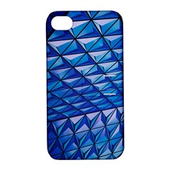 Lines Geometry Architecture Texture Apple Iphone 4/4s Hardshell Case With Stand by Simbadda