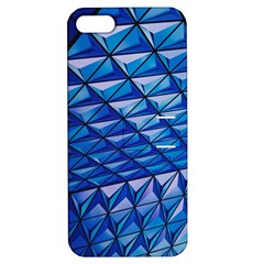 Lines Geometry Architecture Texture Apple Iphone 5 Hardshell Case With Stand by Simbadda
