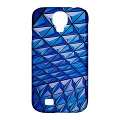 Lines Geometry Architecture Texture Samsung Galaxy S4 Classic Hardshell Case (pc+silicone) by Simbadda