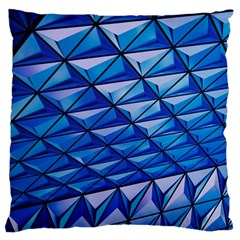 Lines Geometry Architecture Texture Standard Flano Cushion Case (one Side) by Simbadda