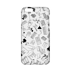 Furniture Black Decor Pattern Apple Iphone 6/6s Hardshell Case by Simbadda