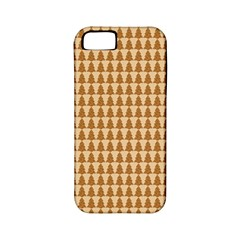 Pattern Gingerbread Brown Apple Iphone 5 Classic Hardshell Case (pc+silicone) by Simbadda