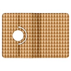 Pattern Gingerbread Brown Kindle Fire Hdx Flip 360 Case by Simbadda