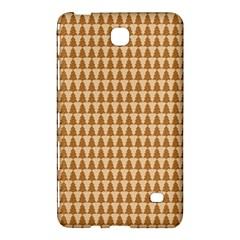 Pattern Gingerbread Brown Samsung Galaxy Tab 4 (8 ) Hardshell Case  by Simbadda