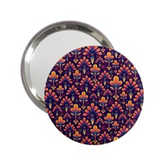 Abstract Background Floral Pattern 2 25  Handbag Mirrors by Simbadda