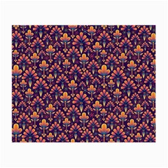 Abstract Background Floral Pattern Small Glasses Cloth by Simbadda