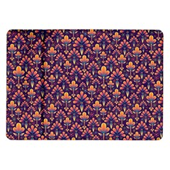 Abstract Background Floral Pattern Samsung Galaxy Tab 10 1  P7500 Flip Case by Simbadda