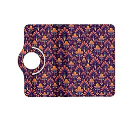 Abstract Background Floral Pattern Kindle Fire Hd (2013) Flip 360 Case by Simbadda