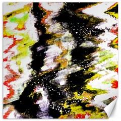 Canvas Acrylic Digital Design Canvas 12  X 12   by Simbadda