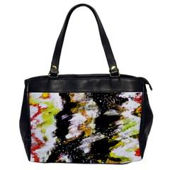 Canvas Acrylic Digital Design Office Handbags by Simbadda
