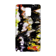 Canvas Acrylic Digital Design Samsung Galaxy Note 4 Hardshell Case by Simbadda