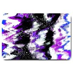 Canvas Acrylic Digital Design Large Doormat  by Simbadda