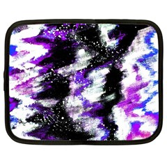 Canvas Acrylic Digital Design Netbook Case (large)
