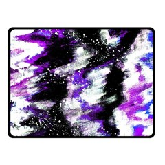 Canvas Acrylic Digital Design Fleece Blanket (small) by Simbadda