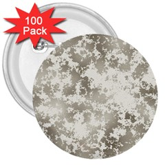 Wall Rock Pattern Structure Dirty 3  Buttons (100 Pack)  by Simbadda