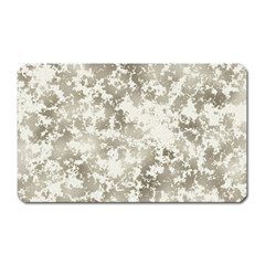 Wall Rock Pattern Structure Dirty Magnet (rectangular) by Simbadda