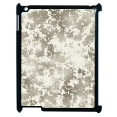Wall Rock Pattern Structure Dirty Apple Ipad 2 Case (black) by Simbadda