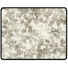 Wall Rock Pattern Structure Dirty Double Sided Fleece Blanket (medium)  by Simbadda