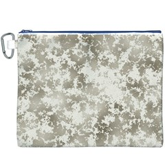 Wall Rock Pattern Structure Dirty Canvas Cosmetic Bag (xxxl) by Simbadda
