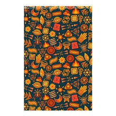 Pattern Background Ethnic Tribal Shower Curtain 48  X 72  (small)  by Simbadda