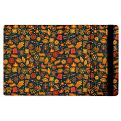 Pattern Background Ethnic Tribal Apple Ipad 2 Flip Case by Simbadda
