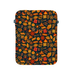 Pattern Background Ethnic Tribal Apple Ipad 2/3/4 Protective Soft Cases by Simbadda