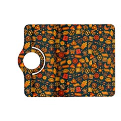 Pattern Background Ethnic Tribal Kindle Fire Hd (2013) Flip 360 Case by Simbadda