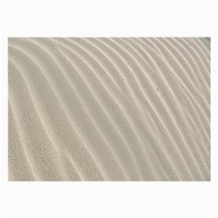 Sand Pattern Wave Texture Large Glasses Cloth by Simbadda