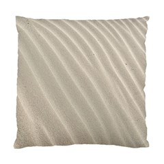 Sand Pattern Wave Texture Standard Cushion Case (one Side) by Simbadda