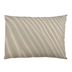 Sand Pattern Wave Texture Pillow Case (two Sides) by Simbadda