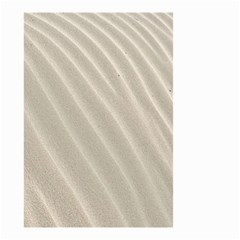 Sand Pattern Wave Texture Small Garden Flag (two Sides) by Simbadda