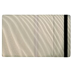 Sand Pattern Wave Texture Apple Ipad 2 Flip Case by Simbadda