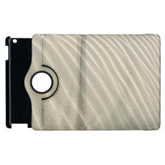 Sand Pattern Wave Texture Apple Ipad 3/4 Flip 360 Case by Simbadda