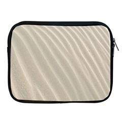 Sand Pattern Wave Texture Apple Ipad 2/3/4 Zipper Cases by Simbadda