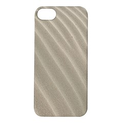 Sand Pattern Wave Texture Apple Iphone 5s/ Se Hardshell Case by Simbadda