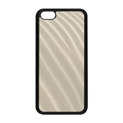 Sand Pattern Wave Texture Apple Iphone 5c Seamless Case (black) by Simbadda