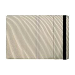 Sand Pattern Wave Texture Ipad Mini 2 Flip Cases by Simbadda