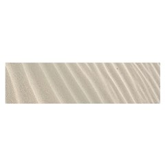 Sand Pattern Wave Texture Satin Scarf (oblong) by Simbadda