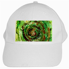 Canvas Acrylic Design Color White Cap by Simbadda