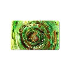 Canvas Acrylic Design Color Magnet (name Card) by Simbadda