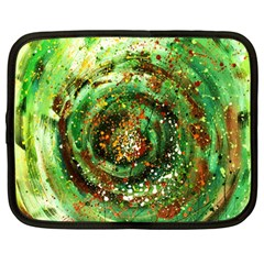Canvas Acrylic Design Color Netbook Case (large) by Simbadda
