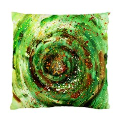 Canvas Acrylic Design Color Standard Cushion Case (two Sides) by Simbadda