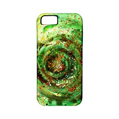 Canvas Acrylic Design Color Apple Iphone 5 Classic Hardshell Case (pc+silicone) by Simbadda