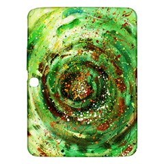 Canvas Acrylic Design Color Samsung Galaxy Tab 3 (10 1 ) P5200 Hardshell Case  by Simbadda