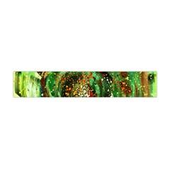 Canvas Acrylic Design Color Flano Scarf (mini) by Simbadda