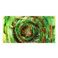 Canvas Acrylic Design Color Satin Shawl by Simbadda