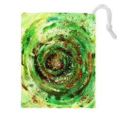 Canvas Acrylic Design Color Drawstring Pouches (xxl) by Simbadda