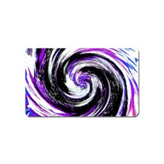 Canvas Acrylic Digital Design Magnet (name Card) by Simbadda