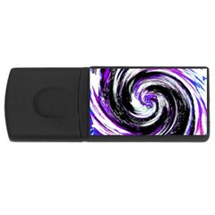 Canvas Acrylic Digital Design Usb Flash Drive Rectangular (4 Gb) by Simbadda