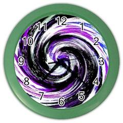 Canvas Acrylic Digital Design Color Wall Clocks by Simbadda